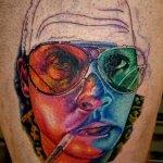 kolorowy tattoo